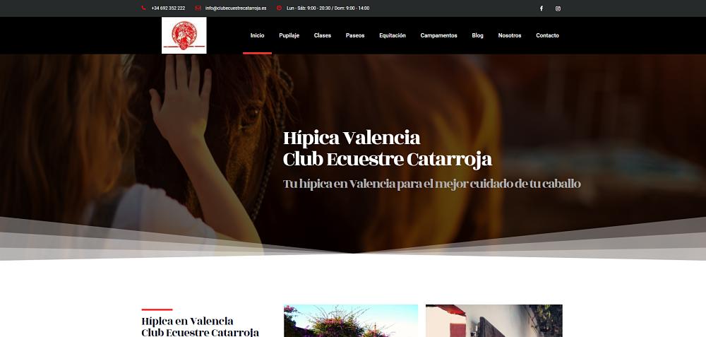Hípica en Valencia Club Ecuestre Catarroja